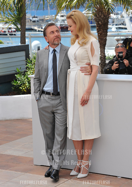 Nicole Kidman &amp; Tim Roth at the photocall for their movie &quot;Grace of Monaco&quot; at the 67th Festival de Cannes.<br /> May 14, 2014  Cannes, France<br /> Picture: Paul Smith / Featureflash