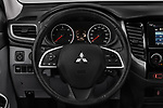 Car pictures of steering wheel view of a 2018 Mitsubishi L200 Intense 2 Door Pick Up