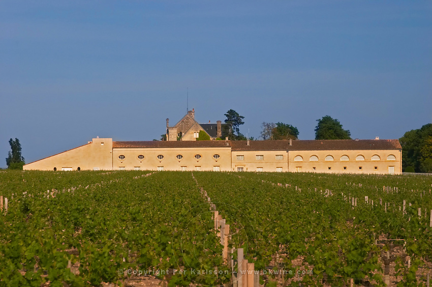 The winery building at Chateau Mouton Rothschild Pauillac Medoc Bordeaux Gironde Aquitaine France