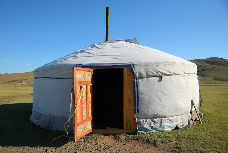 Ger. Mongolia.