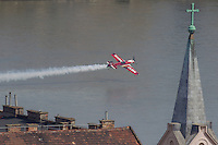 May 1 Air Show in Budapest 2013