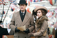 The King's Speech (2010) <br /> Colin Firth &amp; Helena Bonham Carter<br /> *Filmstill - Editorial Use Only*<br /> CAP/MFS<br /> Image supplied by Capital Pictures