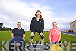 Getting fit and healthy for Christmas with the Glenbeigh gym Christmas transformation programme are Bernie Burke and Margaret Griffin with Fitness Instructor and Personal Trainer,  Jacqueline Le Bourhis