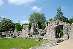 Wolvesey Castle ( former principle residence of the Bishops of Winchester ), Winchester, Hampshire, England