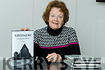 Nancy McAuliffe with her book Ballylongford a photographic memoir vol 3