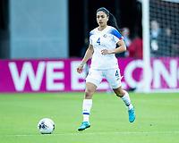 HOUSTON, TX - JANUARY 31: Mariana Benavides #4 of Costa Rica during a game between Haiti and Costa Rica at BBVA Stadium on January 31, 2020 in Houston, Texas.