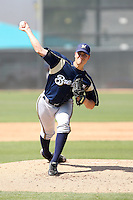 Damon Krestalude, Milwaukee Brewers 2010 minor league spring training..Photo by:  Bill Mitchell/Four Seam Images.