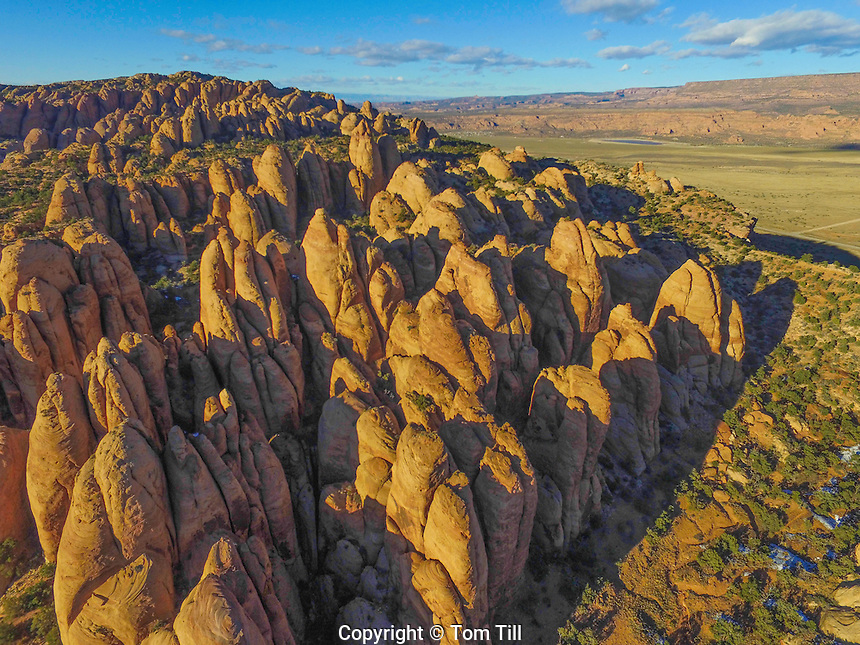 The  Coneheads, Rock formations in Behind-the-Rocks propose wilderness near Moab, Utah