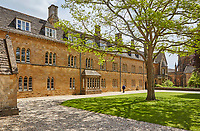 BNPS.co.uk (01202 558833)<br /> Pic: SherborneSchool/BNPS<br /> <br /> Historic Sherborne School in Dorset.<br /> <br /> The nephew of Sir Alan Turing has called for his valuable possessions to be returned to the school they were stolen from 36 years ago after they were rediscovered by the FBI in the US.<br /> <br /> The Enigma codebreaker's Princeton degree, OBE medal and some of his school reports and letters were gifted by his mother Ethel to Sherborne School in Dorset in the 1960s.<br /> <br /> The items were taken in 1984 with an apology note left in their place saying they will be 'well taken care of' and one day 'returned to this spot'.<br /> <br /> Remarkably, they have now been discovered in the home of a woman in Denver, Colorado, during an FBI search.
