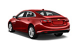 Car pictures of rear three quarter view of 2016 Chevrolet Malibu 1LT 4 Door Sedan Angular Rear