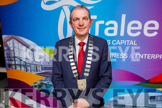 Kevin McCarthy the new President of the Tralee Chamber Alliance at their AGM in the Rose Hotel on Tuesday night.