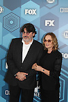 Alfred Molina & Jessica Lange  - Fox Upfronts - May 16, 2016 at Wollman Rink, Central Park, New York City, New York. (Photo by Sue Coflin/Max Photos)
