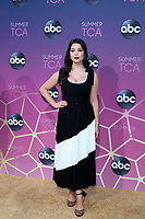 LOS ANGELES - AUG 15:  Auli'i Cravalho at the ABC Summer TCA All-Star Party at the SOHO House on August 15, 2019 in West Hollywood, CA