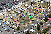 aerial photograph Sonoma-Marin county fairgrounds, Petaluma, Sonoma county, California