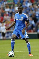 Denba Ba (29) Chelsea in action..Manchester City defeated Chelsea 4-3 in an international friendly at Busch Stadium, St Louis, Missouri.