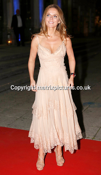 NON EXCLUSIVE PICTURE: MATRIXPICTURES.CO.UK<br /> PLEASE CREDIT ALL USES<br /> <br /> WORLD RIGHTS<br /> <br /> Geri Horner is pictured as she attends the Britain's Got Talent Childline Ball at Old Billingsgate Market in London.<br /> <br /> SEPTEMBER 28th 2017<br /> <br /> REF: WBD 172253