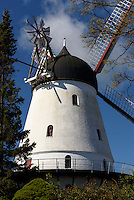 Windm&uuml;hle in Gudhjem auf der Insel Bornholm, D&auml;nemark, Europa<br /> windmill in Gudhjem, Isle of Bornholm Denmark