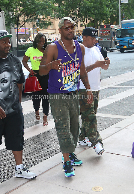 ACEPIXS.COM<br /> <br /> August 11 2014, New York City<br /> <br /> Rapper Cam'ron made an appearance at Sirius Radio on August 11 2014 in New York City<br /> <br /> <br /> By Line: Zelig Shaul/ACE Pictures<br /> <br /> ACE Pictures, Inc.<br /> www.acepixs.com<br /> Email: info@acepixs.com<br /> Tel: 646 769 0430