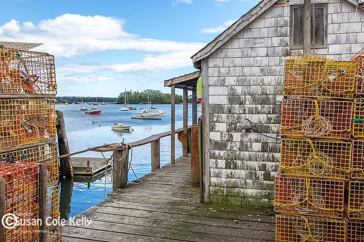 The fishingvillage of Friendship, Maine, USA