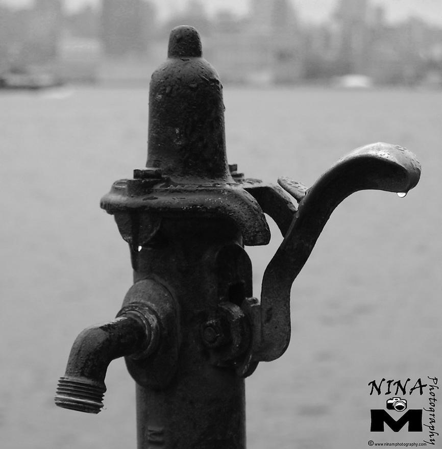 Fishing Faucet B&W