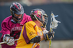 Los Angeles, CA 02/15/14 - Logan Quinn (Arizona State #17) and Tommy Walker IV (Stanford #22)