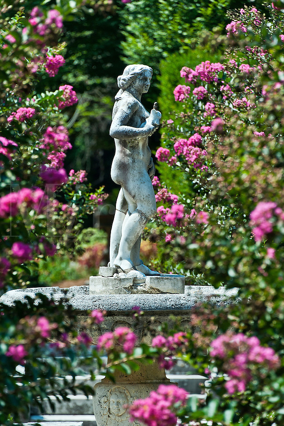 The Elizabethan Gardens, Roanoke Island, North Carolina, USA,