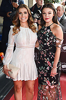 Kym Marsh and Faye Brookes<br /> arrives for the T.R.I.C. Awards 2017 at the Grosvenor House Hotel, Mayfair, London.<br /> <br /> <br /> ©Ash Knotek  D3240  14/03/2017