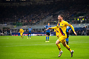MILAN, ITALY - DECEMBER 10: Carles Pérez reacts after scoring the 0-1 goal during the UEFA Champions League group F match between Inter and FC Barcelona at Giuseppe Meazza Stadium on December 10, 2019 in Milan, Italy. (Photo by David Lidström Hultén/LPNA) ***BETALBILD***