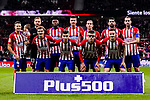 Atletico de Madrid squad pose for team photo during the La Liga 2018-19 match between Atletico de Madrid and Athletic de Bilbao at Wanda Metropolitano, on November 10 2018 in Madrid, Spain. Photo by Diego Gouto / Power Sport Images