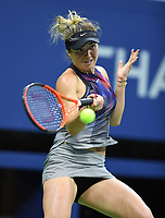 FLUSHING NY- SEPTEMBER 04: ***NO NY DAILIES***  Madison Keys Vs Elina Svitolina: Elina Svitolina returns a volley against Madison Keys on Arthur Ashe Stadium during the US Open at the USTA Billie Jean King National Tennis Center on September 4, 2017 in Flushing Queens. Credit: mpi04/MediaPunch