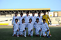 U-22 Japan team group line-up (JPN),..FEBRUARY 9, 2011 - Football :..International friendly match between Kuwait 3-0 U-22 Japan at Mohammed Al-Hamad Stadium in Kuwait City, Kuwait. (Photo by FAR EAST PRESS/AFLO)