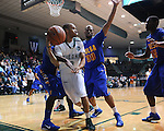 Tulane men's basketball falls to Tulsa, 65-61, at Fogelman Arena.