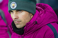 Manchester City coach Mikel Arteta ahead of the EPL - Premier League match between Swansea City and Manchester City at the Liberty Stadium, Swansea, Wales on 13 December 2017. Photo by Mark  Hawkins / PRiME Media Images.