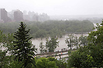 FLOOD IN CALGARY AND HIGH RIVER, JUNE, 2013