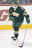 Vermont starter - Chris Myers.  The Boston College Eagles completed a shutout sweep of the University of Vermont Catamounts on Saturday, January 21, 2006 by defeating Vermont 3-0 at Conte Forum in Chestnut Hill, MA.