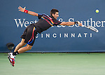 at the Western and Southern Financial Group Masters Series in Cincinnati on August 19, 2011.