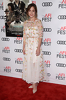 HOLLYWOOD, CA - NOVEMBER 09: Lucy Faust at AFI Fest 2017 Opening Night Gala Screening Of Netflix's Mudbound at TCL Chinese Theatre on November 9, 2017 in Hollywood, California. Credit: David Edwards/MediaPunch
