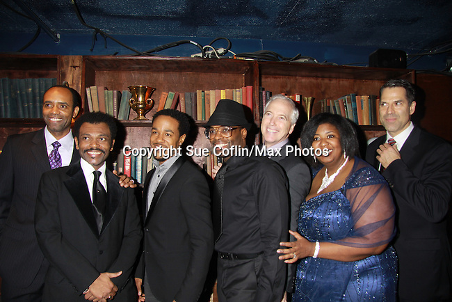 Cast of The Gershwins' Porgy and Bess on Opening Night - January 12, 1212 at the Richard Rogers Theatre, New York City, New York.  (Photo by Sue Coflin/Max Photos)