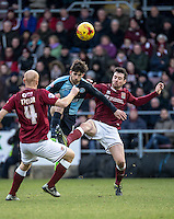 Max Kretzschmar of Wycombe Wanderers during the Sky Bet League 2 match between Northampton Town and Wycombe Wanderers at Sixfields Stadium, Northampton, England on the 20th February 2016. Photo by Liam McAvoy.
