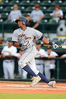 Lakeland Flying Tigers shortstop Dixon Machado (13) during a game against the Bradenton Marauders July 22, 2013 at McKechnie Field in Bradenton, Florida.  Bradenton defeated Lakeland 9-5.  (Mike Janes/Four Seam Images)