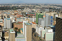 KENYA Nairobi, buildings in city centre / KENIA Nairobi, Gebaeude in der Innenstadt