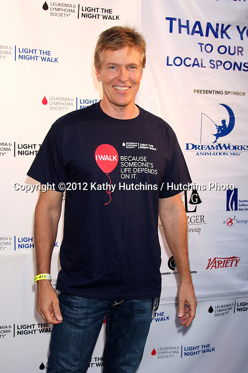 LOS ANGELES - OCT 6:  Jack Wagner attends the Light The Night Walk to benefit The Leukemia & Lymphoma Society at Sunset Gower Studios on October 6, 2012 in Los Angeles, CA