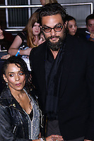 "WESTWOOD, LOS ANGELES, CA, USA - MARCH 18: Lisa Bonet, Jason Momoa at the World Premiere Of Summit Entertainment's ""Divergent"" held at the Regency Bruin Theatre on March 18, 2014 in Westwood, Los Angeles, California, United States. (Photo by David Acosta/Celebrity Monitor)"