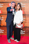 """The director of the film, Gustavo Ron with his wife attends to the premiere of the spanish film """"Mi Panaderia en Brooklyn"""" at Cines Capitol in Madrid. June 30 2016. (ALTERPHOTOS/Borja B.Hojas)"""