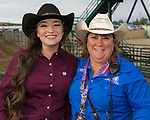 Rochelle and Allison during the Reno Rodeo Nevada Pink Night on Friday, June 28, 2019.