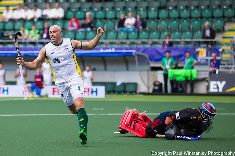 Australia vs Malaysia in first game of the Rabobank Hockey World Cup 2014