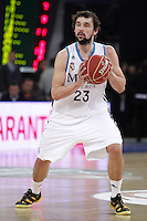 Real Madrid's Sergio Llull during Spanish Basketball King's Cup match.February 07,2013. (ALTERPHOTOS/Acero) /Nortephoto