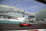 03.12.2019, Yas Marina Circuit, Abu Dhabi, Formel 1 Testfahrten Abu Dhabi 2019<br />, im Bild<br />Sebastian Vettel (GER#5), Scuderia Ferrari Mission Winnow<br /> <br /> Foto © nordphoto / Bratic