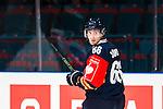 Stockholm 2015-09-04 Ishockey CHL Djurg&aring;rdens IF - EV Zug :  <br /> Djurg&aring;rdens Marcus S&ouml;rensen under matchen mellan Djurg&aring;rdens IF och EV Zug <br /> (Foto: Kenta J&ouml;nsson) Nyckelord:  Ishockey Hockey CHL Hovet Johanneshovs Isstadion Djurg&aring;rden DIF Zug portr&auml;tt portrait