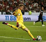 12.08.2018, Commerzbank - Arena, Frankfurt, GER, Supercup, Eintracht Frankfurt vs FC Bayern M&uuml;nchen , <br />DFL REGULATIONS PROHIBIT ANY USE OF PHOTOGRAPHS AS IMAGE SEQUENCES AND/OR QUASI-VIDEO.<br />im Bild<br />Torwart Frederik R&ouml;nnow (Frankfurt)<br /> <br /> Foto &copy; nordphoto / Bratic